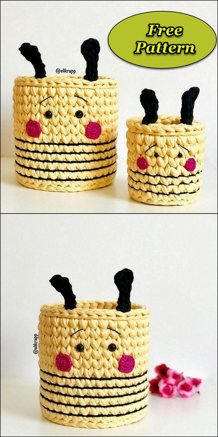 Attractive Crochet Jewelry Box