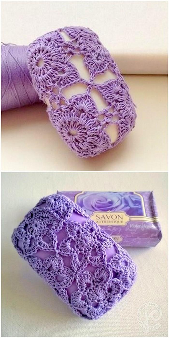 Unique Soap Cover Free Crochet Pattern