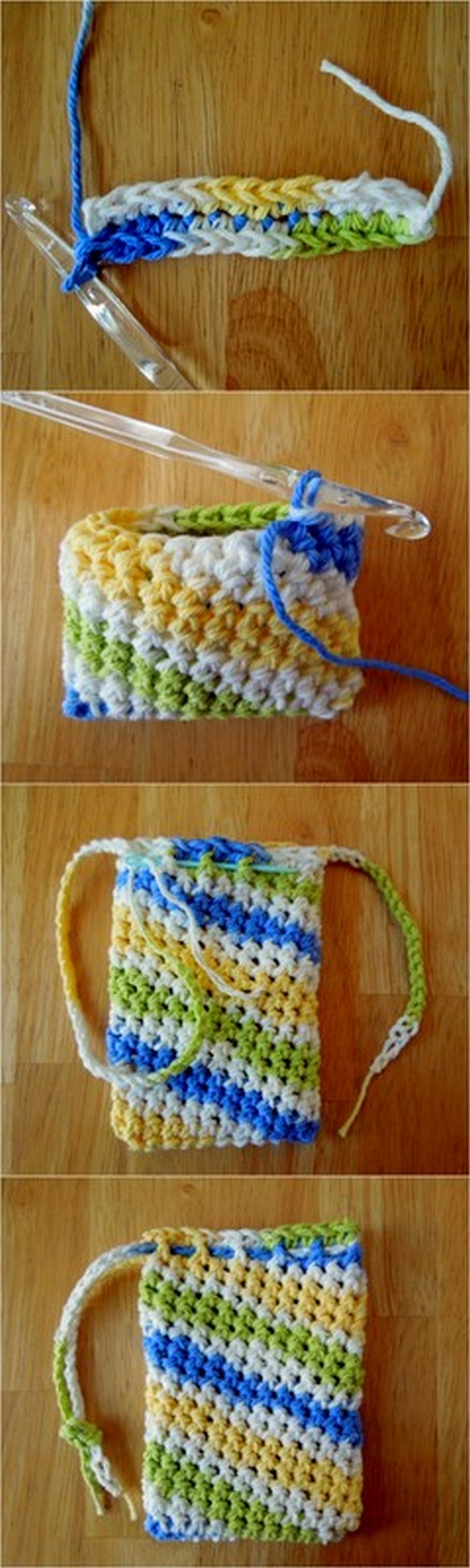 Simple And Easy Etui Free Crochet Pattern