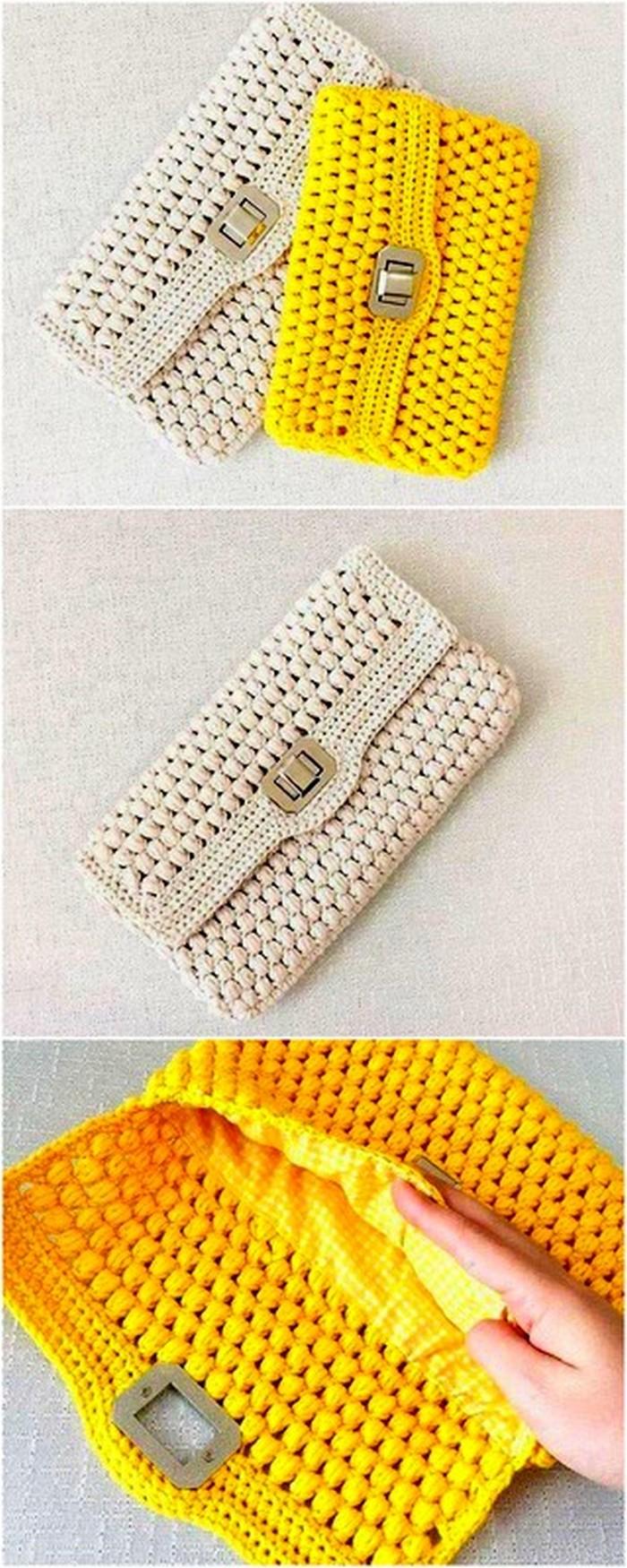 Stylish Pouch Free Crochet Pattern
