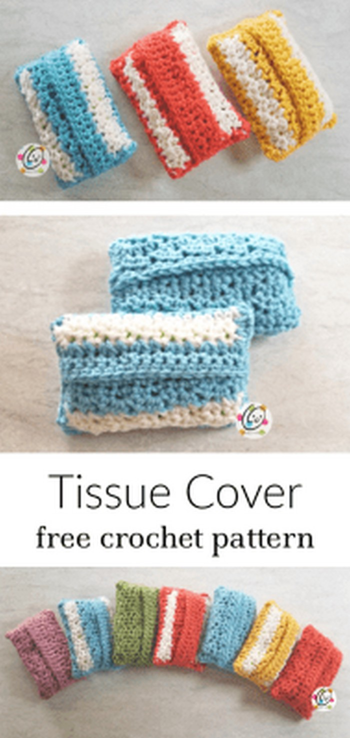 Tissue Cover Free Crochet Pattern.