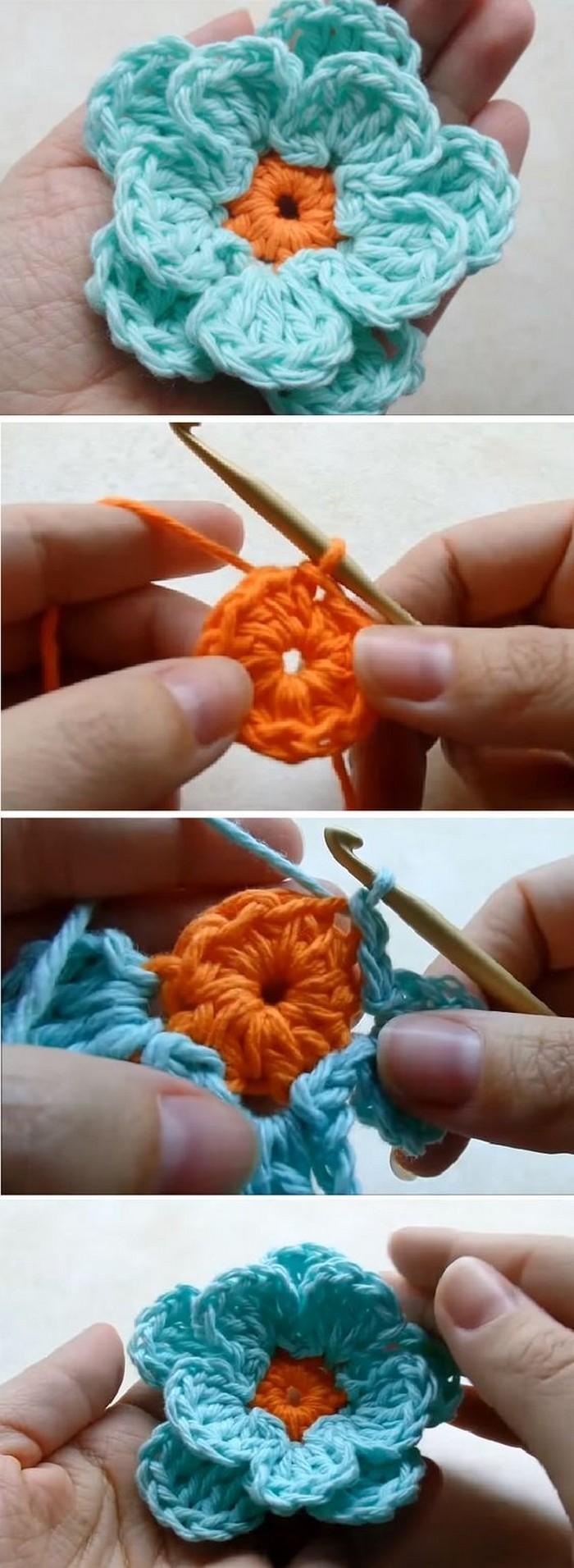 Easy To Make Crochet Flower Free Crochet Pattern