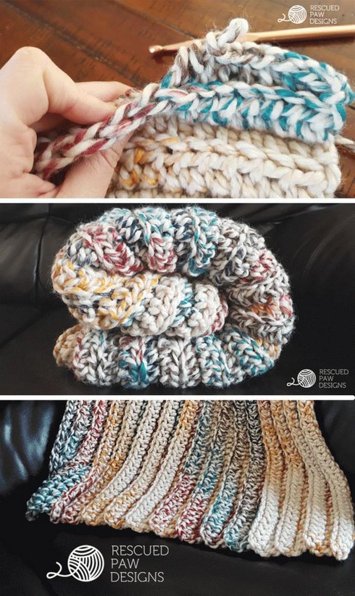 simple baby Blanket Free Crochet pattern
