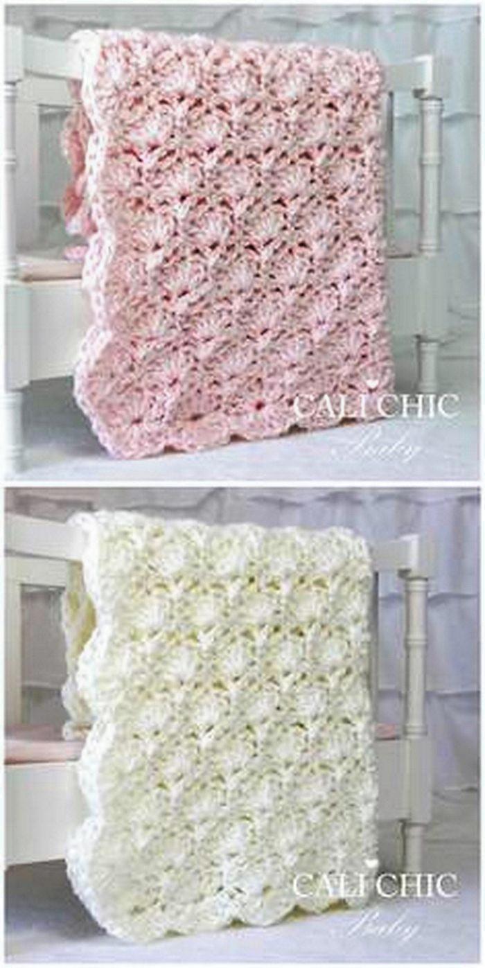 Baby Cart Quilt Free Crochet pattern