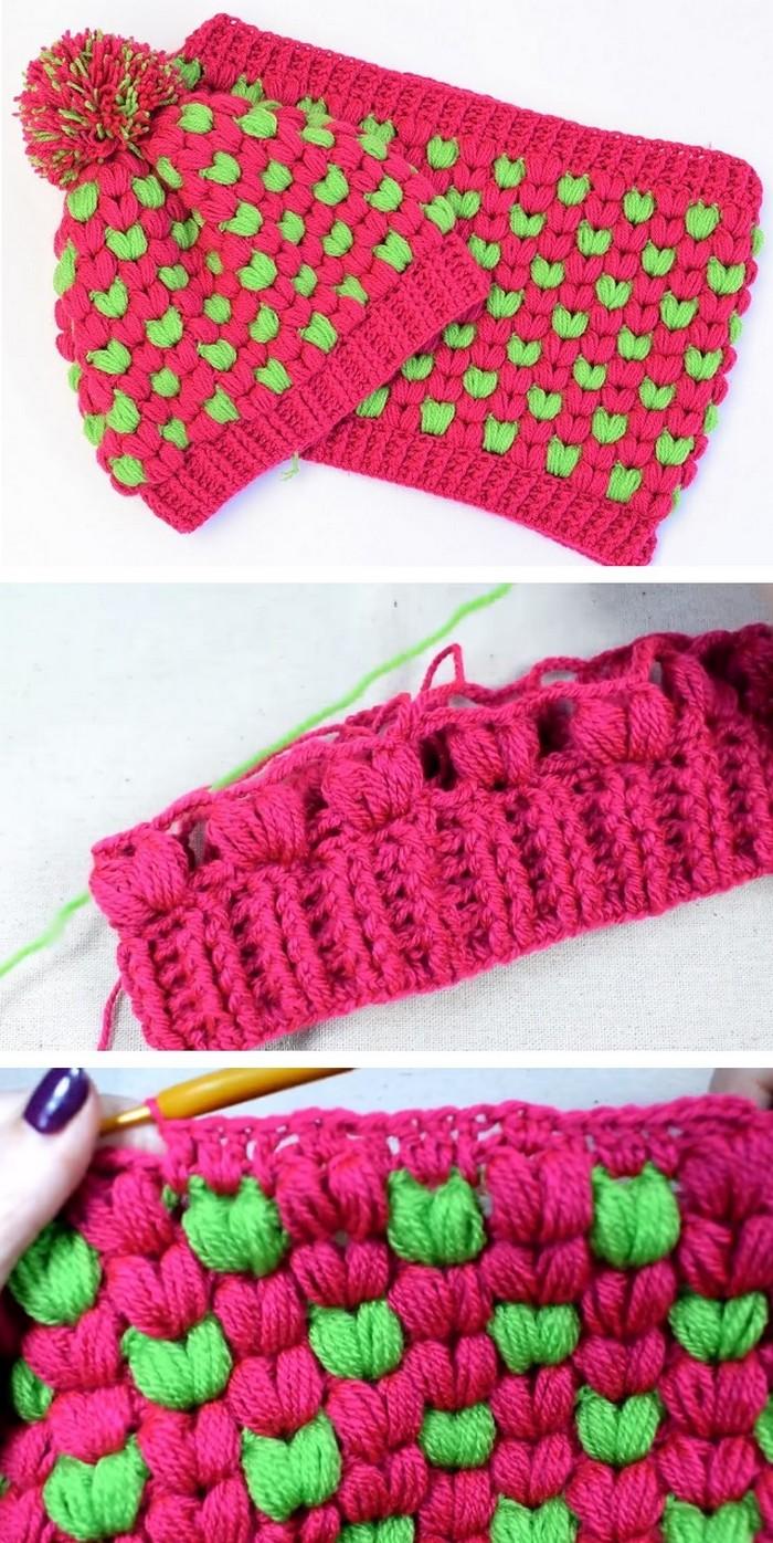 Stylish Beanie Free Crochet Pattern
