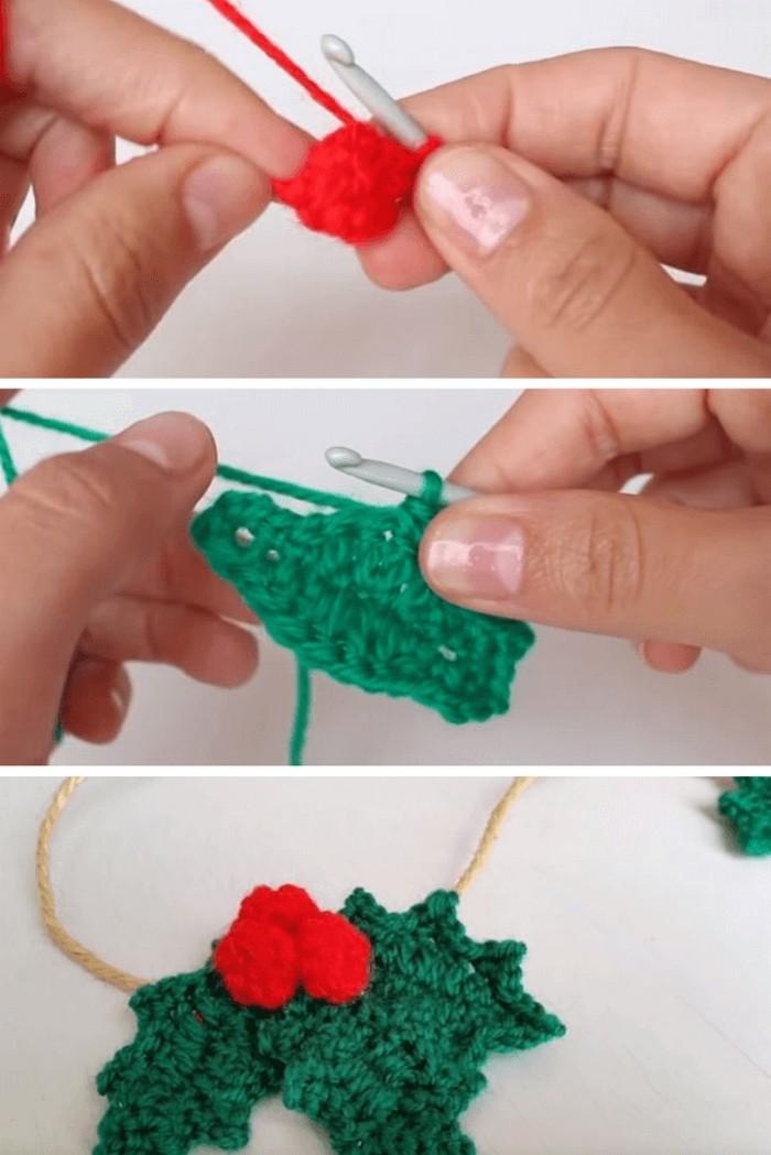 Starting Of Flower Free crochet pattern