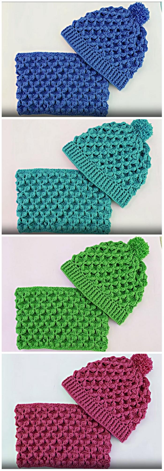 Unique Color Hat Free Crochet Pattern