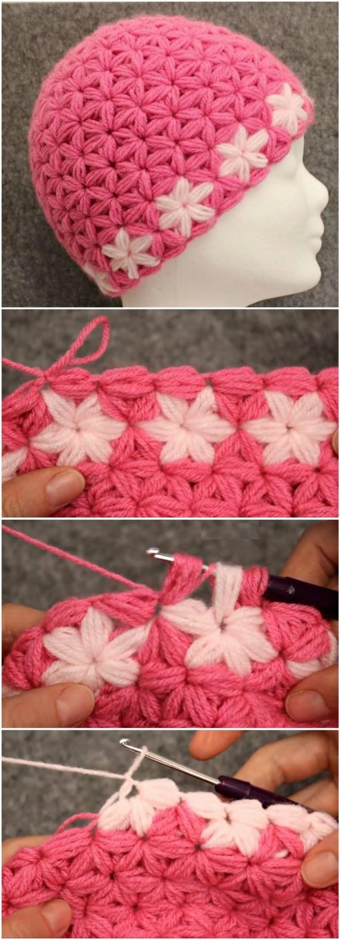 Hijab Cap Free Crochet Pattern