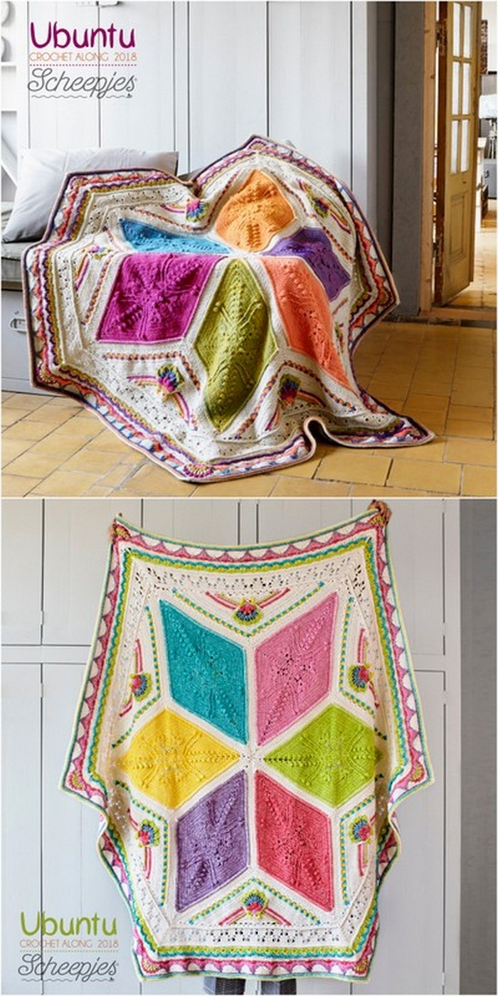 Beautiful Blanket Free crochet pattern