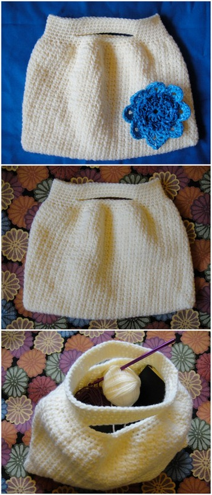 Crochet Worker Basket Free Crochet Pattern