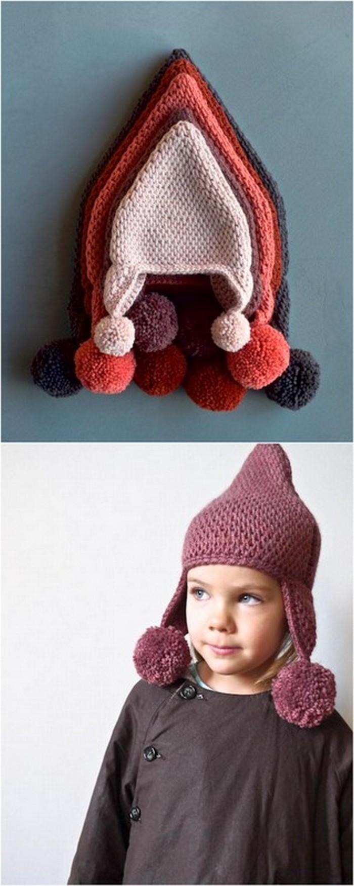 Pom Hats Free crochet Pattern