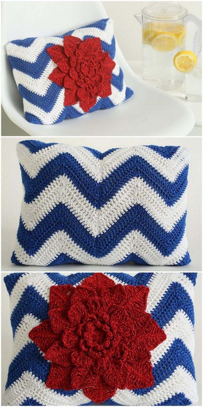 Broad Flower Free crochet pattern