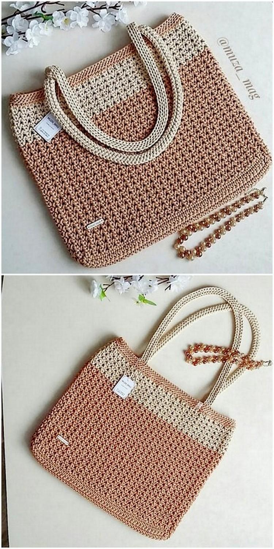 Office Bag Free Crochet Pattern