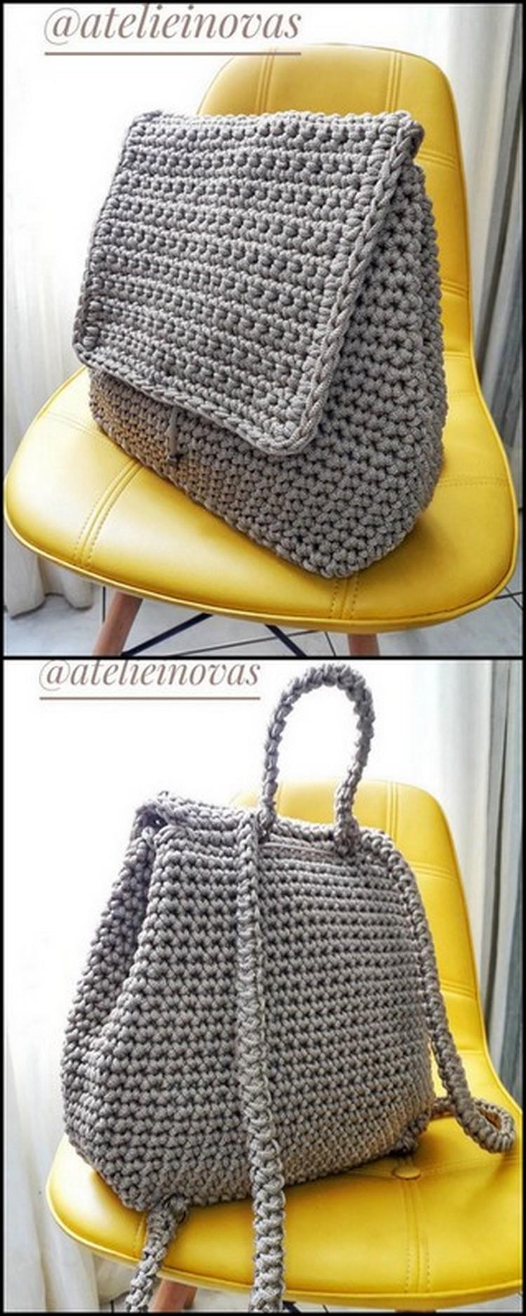 Shoulder Bag Free Crochet Pattern