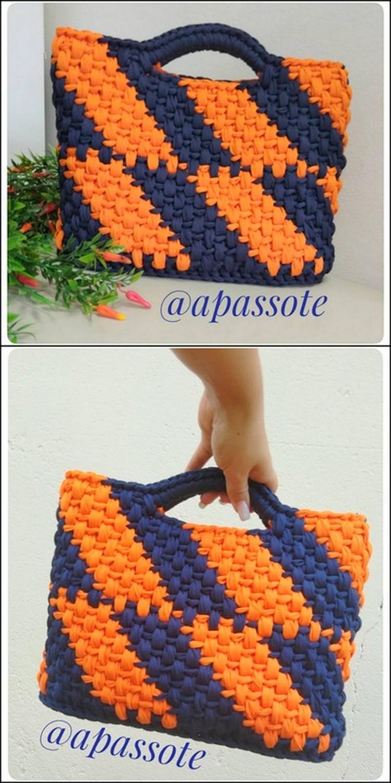 Nice Crochet Bag free Crochet Pattern