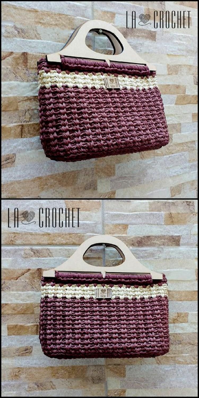 Lovely Hand Bag Free Crochet pattern