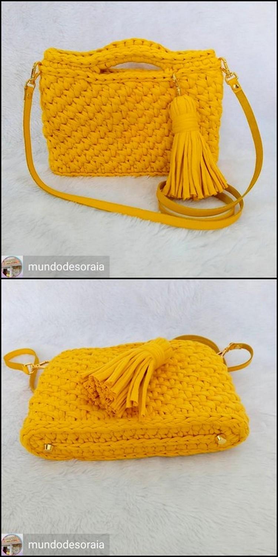 Girls Shoulder Bag Free Crochet pattern