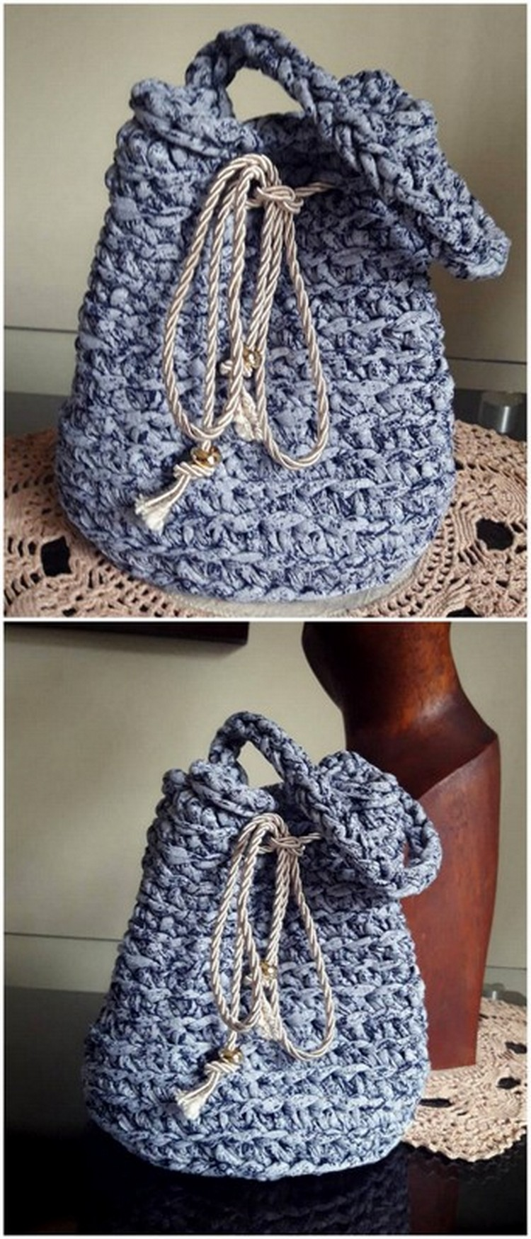 Crochet Sack Pack Free Crochet Pattern