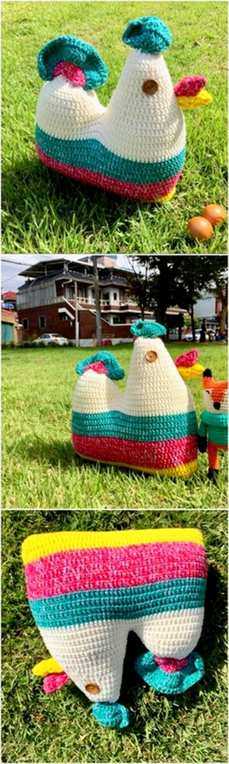 Crochet Small Hen Free Crochet Pattern