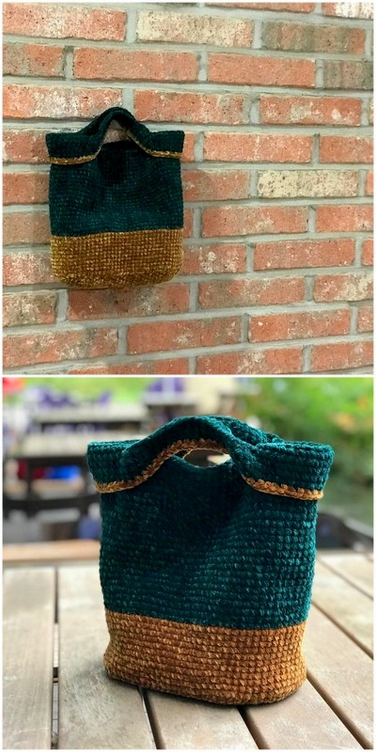 Palm Bag Free Crochet Pattern