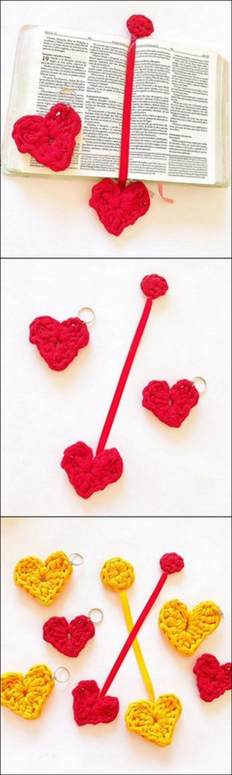Bookmark and Keychain Free Crochet Pattern