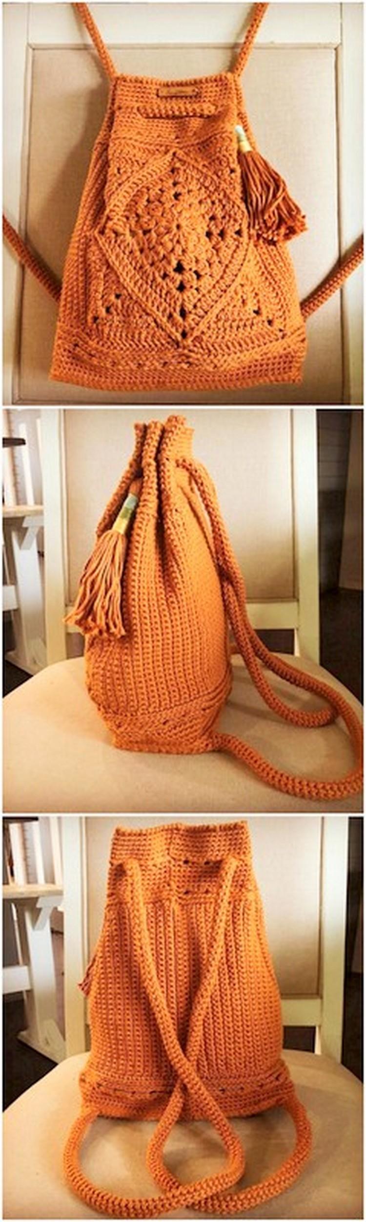 BackPack Free Crochet pattern