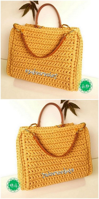 Stylish Bag Free Crochet pattern