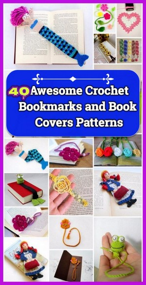 50 Quick Crochet Books Covers Free Patterns Patterns