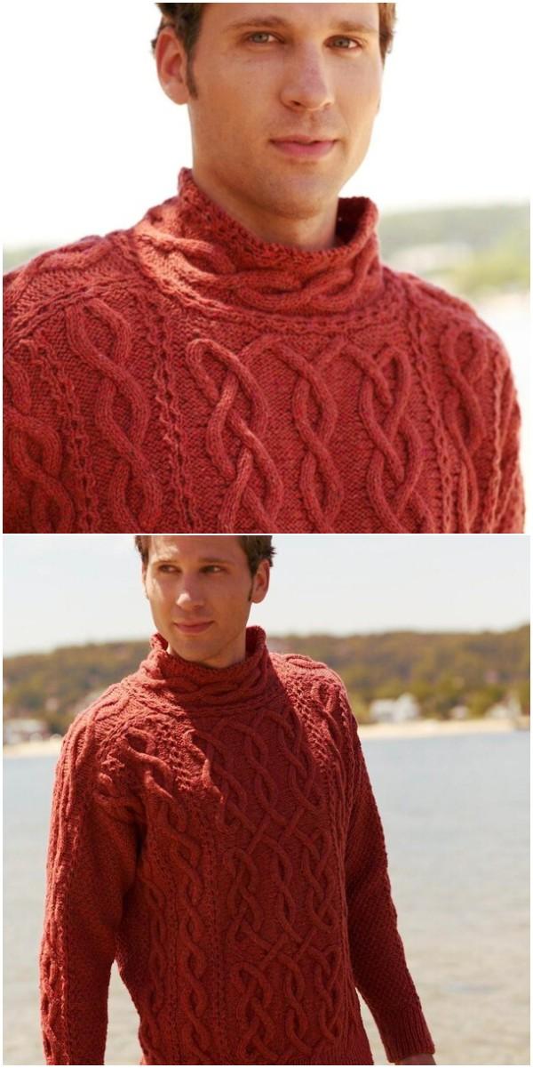 Warm Crochet Sweater