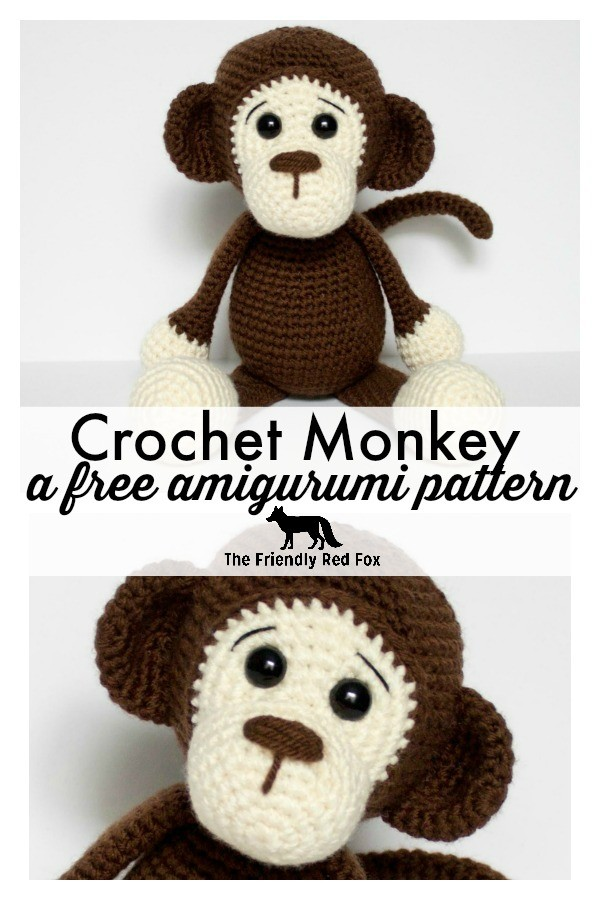 Naughty monkey amigurumi pattern | Crochet monkey pattern, Crochet ... | 900x600