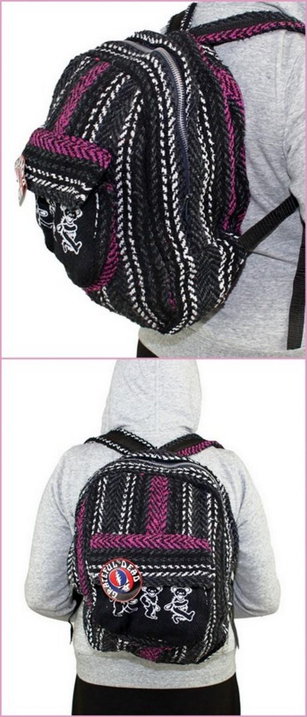 CROCHET BLACK Bags