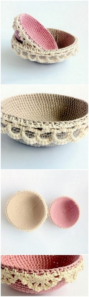 crochet bowl cozy and covers pattern free