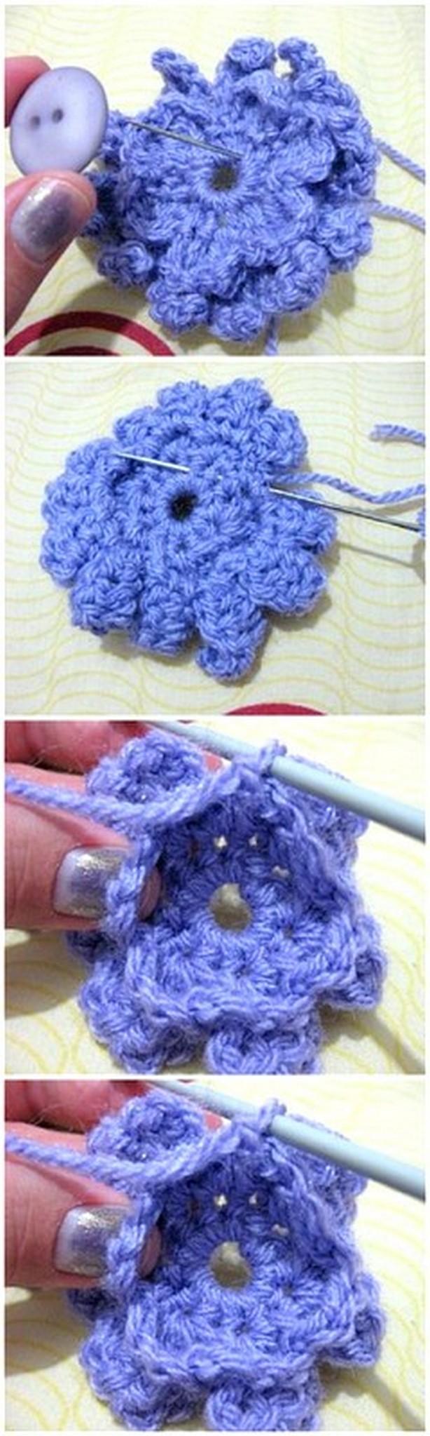 Super Fast Crochet Flower Pattern
