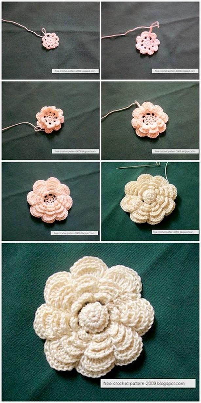 Crochet Mini Flower