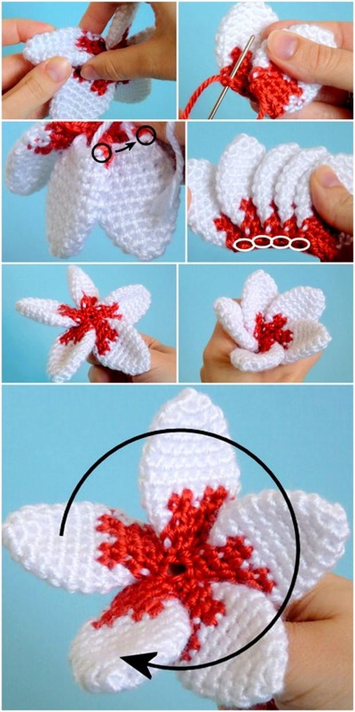 Fantastic Crochet 5 Petal Flower Tutorial